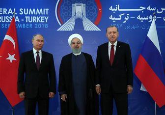محور گفتگوهای روحانی، پوتین و اردوغان در سوچی