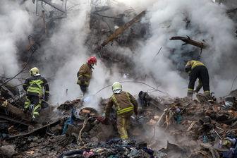 دیه آتش نشان های پلاسکو پرداخت میشود