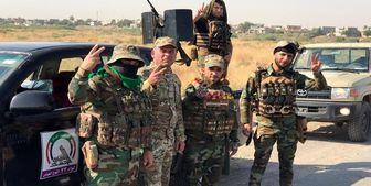 دفع حمله عناصر داعش توسط حشدالشعبی