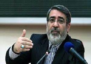 وزیر کشور وارد استان کردستان شد