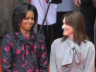 تبدیل زن اوباما به مانکن لباس