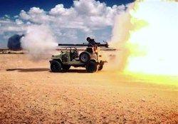 حمله حشدالشعبی به مراکز تجمع داعش در خاک سوریه