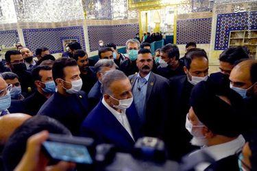 حضور نخست وزیر عراق در مرقد مطهر امام رضا(ع)
