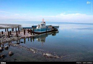 تراز دریاچه ارومیه به بالاترین سطح خود رسید