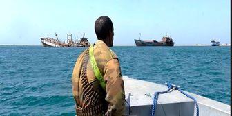 آزادی یک گروگان ایرانی دزدان دریایی سومالی