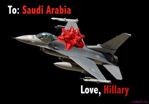 این خانم عربستان را تا دندان مسلح کرد !