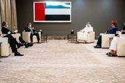 دیدار برایان هوک با وزیرخارجه امارات