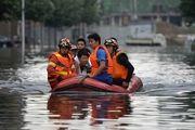 تخلیه نیم میلیون نفر در جنوب چین در پی بارش بارانهای سیل آسا