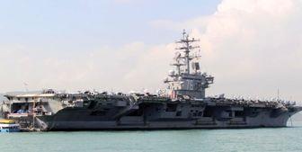 اقدامات تحریکآمیز ناو هواپیمابر آمریکا در دریای چین جنوبی