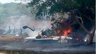 سقوط هواپیما در مکزیک