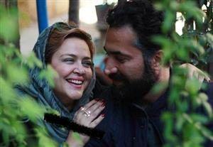 تیپ مشکی «بهاره رهنما» در جشن تولد حاجی /عکس