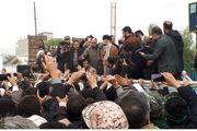 حضور رهبر معظم انقلاب در مناطق زلزله زده/ گزارش تصویری