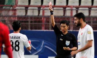 کارشناس داوری: بازیکن کاشیما باید اخراج می شد