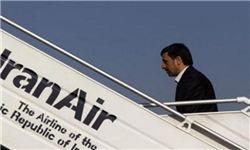 احمدی نژاد قاهره را ترک کرد