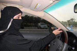 بازداشت زن سعودی به دلیل رانندگی در خیابانهای ریاض