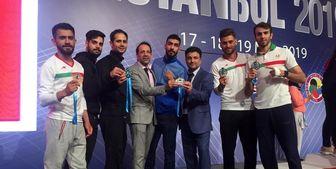 کاراته ایران در استانبول تاریخ ساز شد