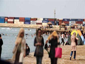 ساحل بوشهر غرق در «نفوذ فرهنگی»+تصاویر