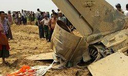 جت ارتش میانمار سقوط کرد