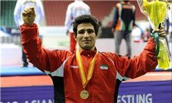 رحیمی ایران را در وزن ۵۵ کیلو طلایی کرد