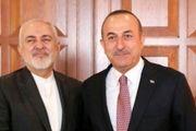 پیام ظریف به همتای ترکیه ای به دلیل زلزله