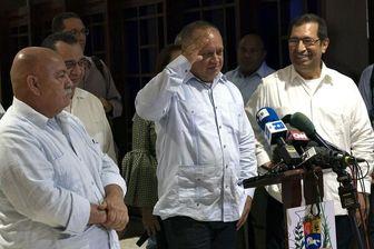 دیدار مقامات احزاب حاکم ونزوئلا و کوبا برای مقابله با آمریکا