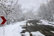 زمستان در بهار شهمیرزاد/ عکس