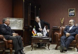 دیدار سلطانیفر با رییس فدراسیون جهانی پیونداعضا