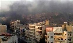وقوع ۲ انفجار همزمان در حمص سوریه با چند کشته و زخمی