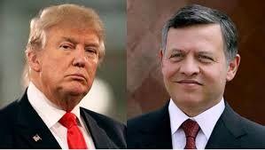 نشست خبری ترامپ و پادشاه اردن در کاخ سفید