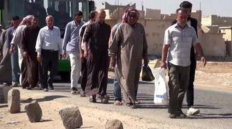 گذرگاه ابوالظهور برای 7 روز غیرنظامیان را از ادلب خارج میکند