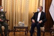 دیدار فرمانده کل ارتش با وزیر خارجه جدید +عکس
