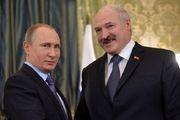 گفتگوی تلفنی پوتین با همتای بلاروس خود