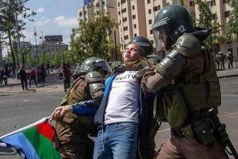 سازمان ملل خشونت پلیس شیلی را محکوم کرد