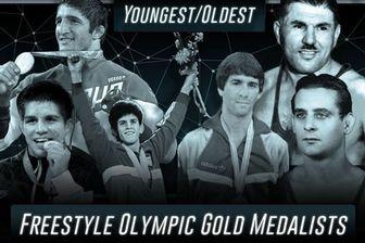 لیست اسامی جوان ترین و مسن ترین مدال آوران کشتی در المپیک / حسن یزدانی در رتبه چهاردهم