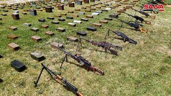 انبار سلاحهای آمریکایی و اسرائیلی تروریستها در سوریه کشف شد