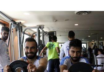 اتفاقی جالب در تمرین استقلال در کویت/عکس