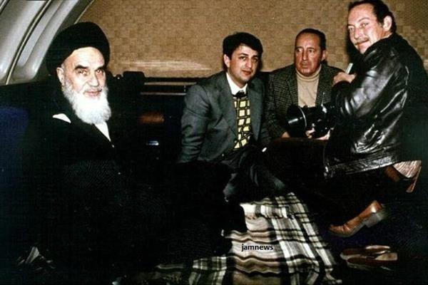 امام خمینی در پرواز انقلاب عکس دیدهنشده از محل استراحت امامخمینی در پرواز انقلاب