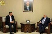 دیدار حسین جابری انصاری با وزیر خارجه سوریه