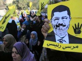 تظاهرات شبانه حامیان اخوان المسلمین