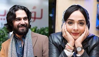 عکس دیده نشده یاسمن و حامد سریال محبوب شبکه 3