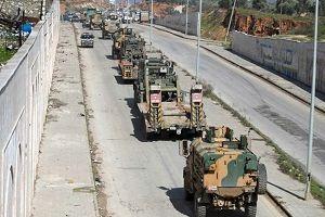 اعزام نیرو و تجهیزات نظامی از ترکیه به ادلب