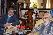 نماینده رئیس جمهور به عیادت «جمشید مشایخی» رفت