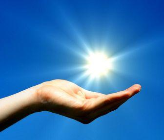 رنگ واقعی خورشید کدام است؟