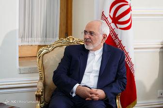 تبریک ظریف درپی انتصاب جدید در دفتر رئیس جمهور