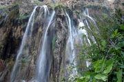 آبشاری زیبا در عسلویه/ عکس