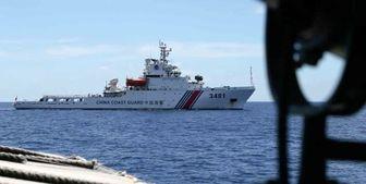 گارد ساحلی چین مجوز گشودن آتش به سوی کشتیهای بیگانه را دریافت کرد