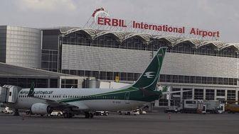 اولین پرواز خارجی فرودگاه اربیل پس از ۵ ماه تحریم