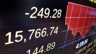 سقوط شاخص سهام در بازار بورس آمریکا