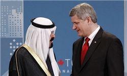 عربستان بزرگترین خریدار تسلیحات از کانادا