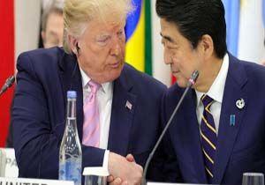 درخواست ترامپ از نخست وزیر ژاپن!